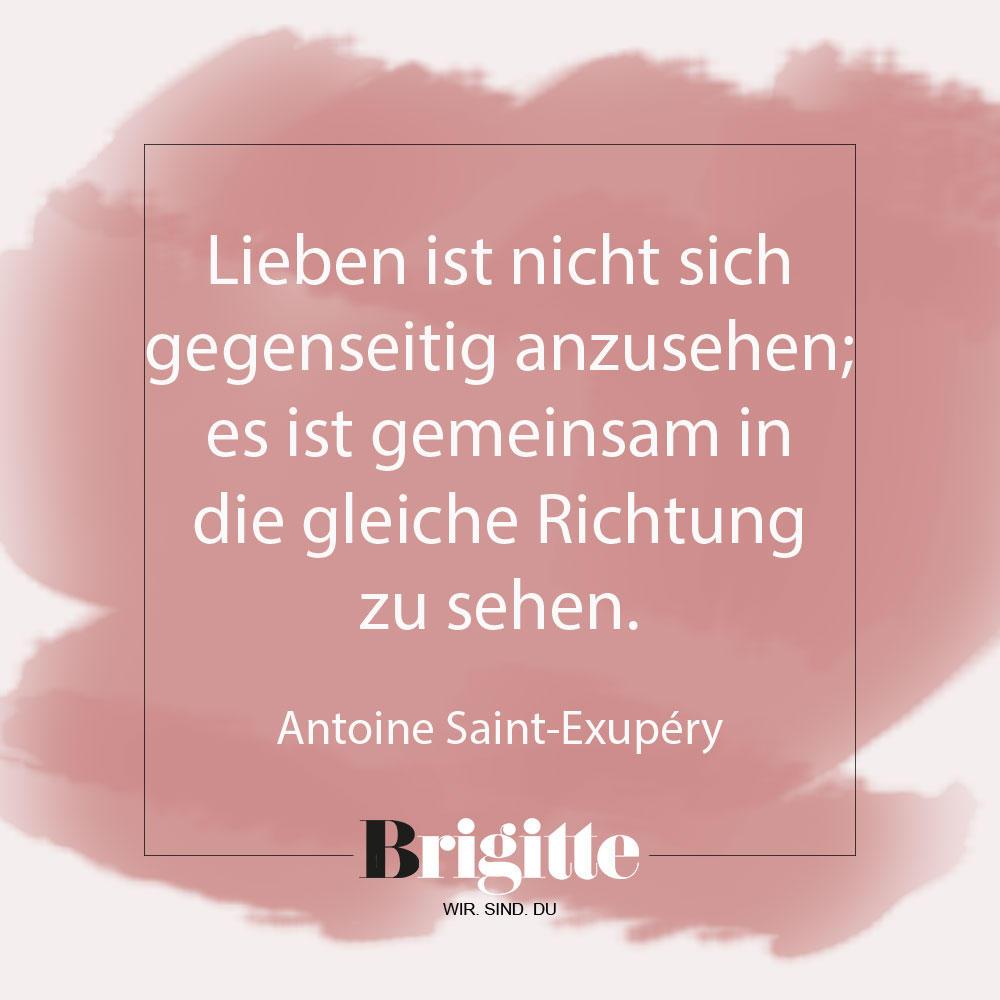 Valentinstags-Sprüche: Zitat von Exupery