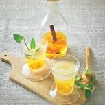 Kumquat-Zimt-Sirup mit Sekt