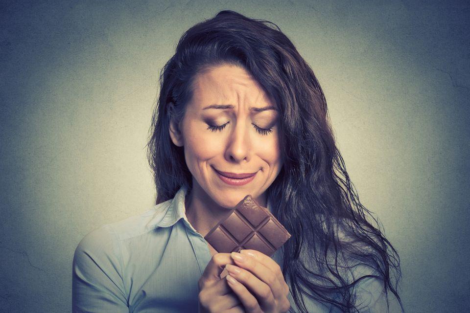 Schokolade, traurig