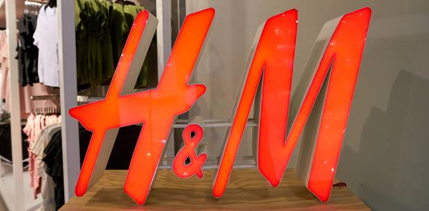 H&M: Logo des Bekleidungsherstellers