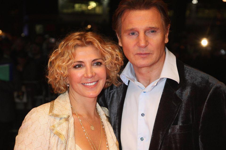 Liam Neeson spricht noch oft mit seiner verstorbenen Frau