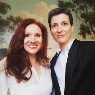 Julian P. Boom und ihre Freundin Fleur Pierets