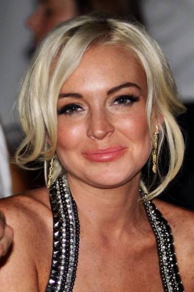Lindsay Lohan mit unreiner Haut