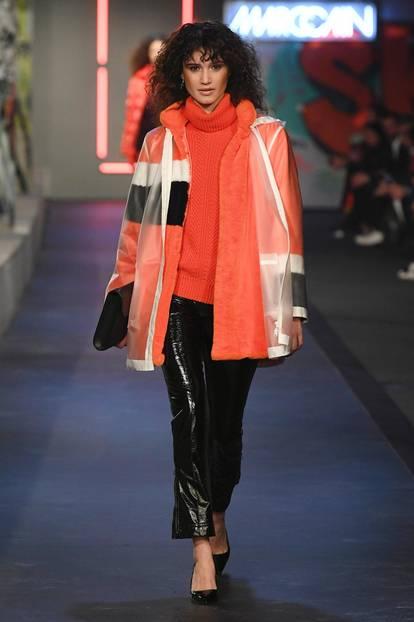 Berlin Fashion Week 2018: Model bei Marc Cain