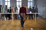 Berlin Fashion Week 2018: Model bei Perret Schaad