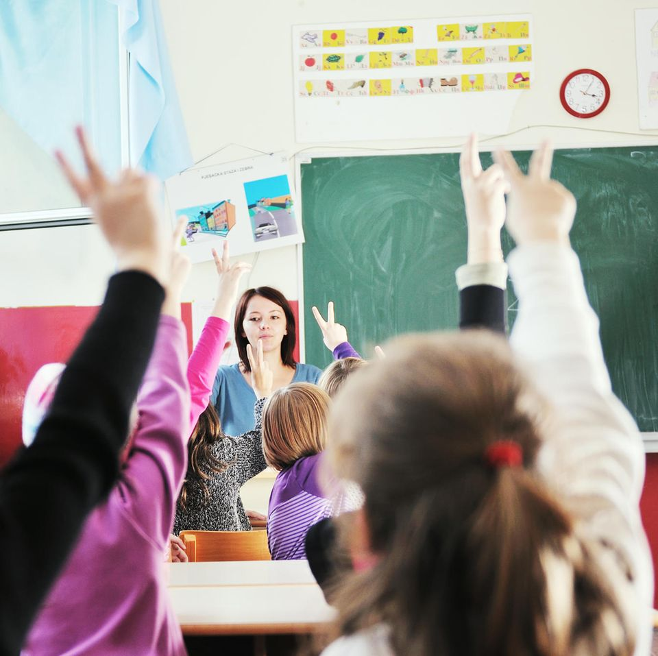 Kinder in Grundschule (Symbolfoto)