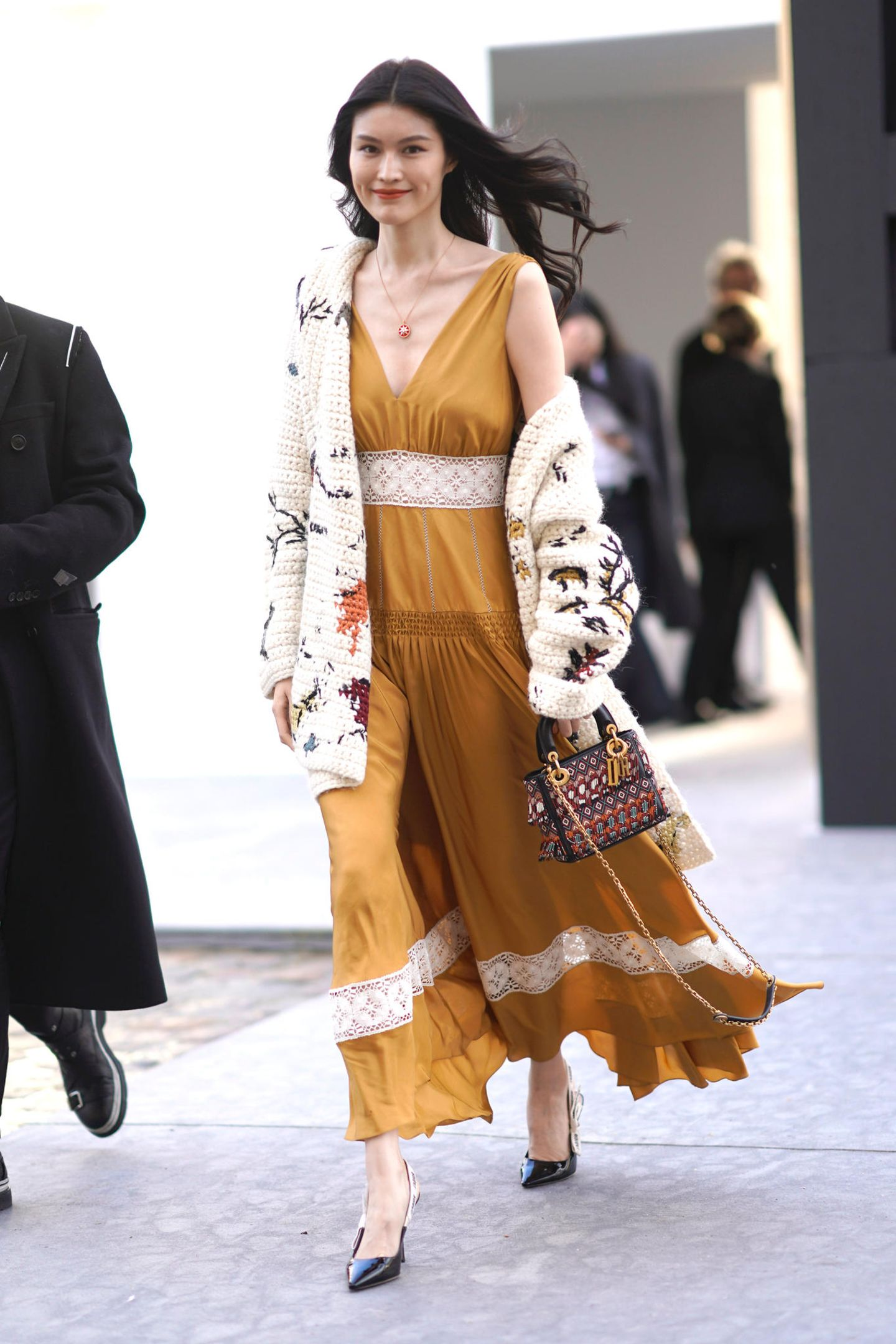 Paris Fashion Week Haute Couture 2018: Streetstyle bei Christian Dior