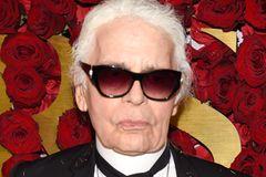 Karl Lagerfeld im Portrait