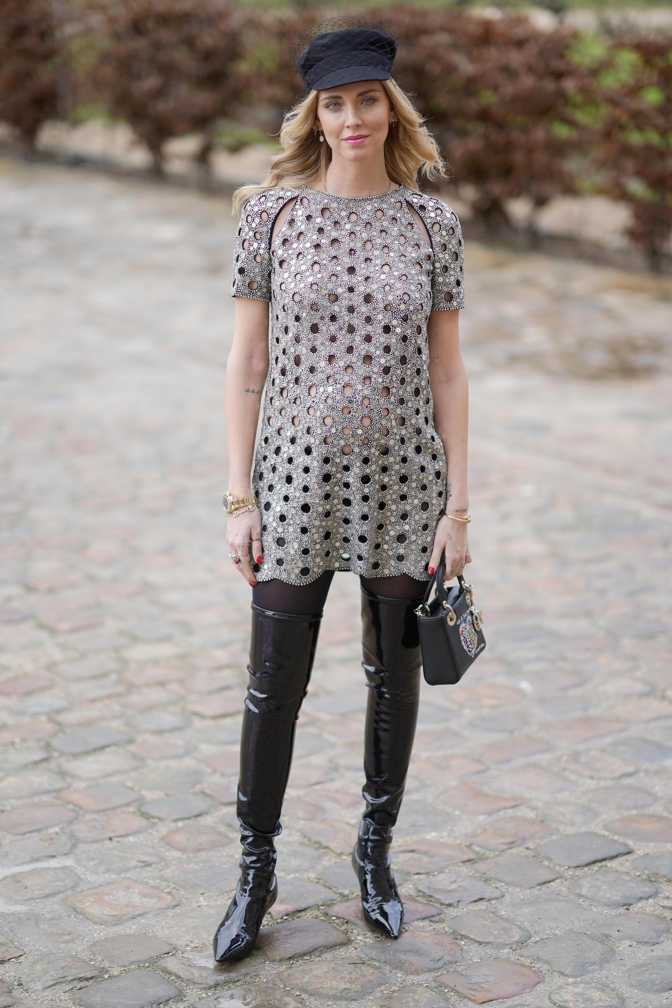 Alexa Blazer Milan Fashion Week