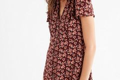 Button-Down Mini Dress von Urban Outfitters