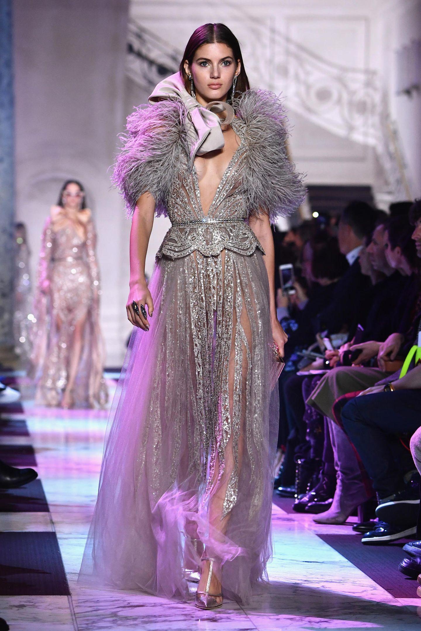 Paris Fashion Week Haute Couture: Kleid von Elie Saab