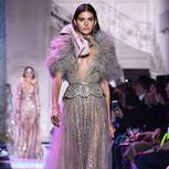 Paris Fashion Week Haute Couture: Kleid von Elie Saab
