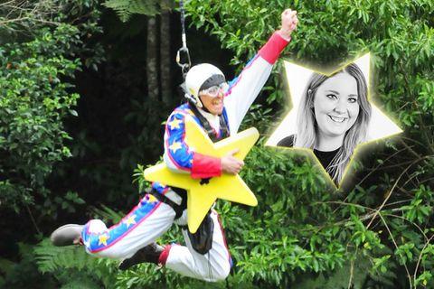 Giuliana macht nen Abflug – und auch der Rocket-Man für Arme fliegt aus dem Busch! ?