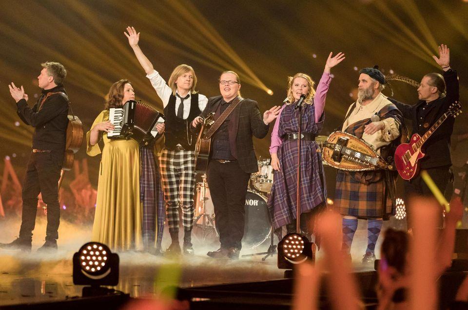 Die Kelly Family auf der Bühne