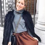Plissee: MIcro-Falten an Bloggerin Dani Nanaa