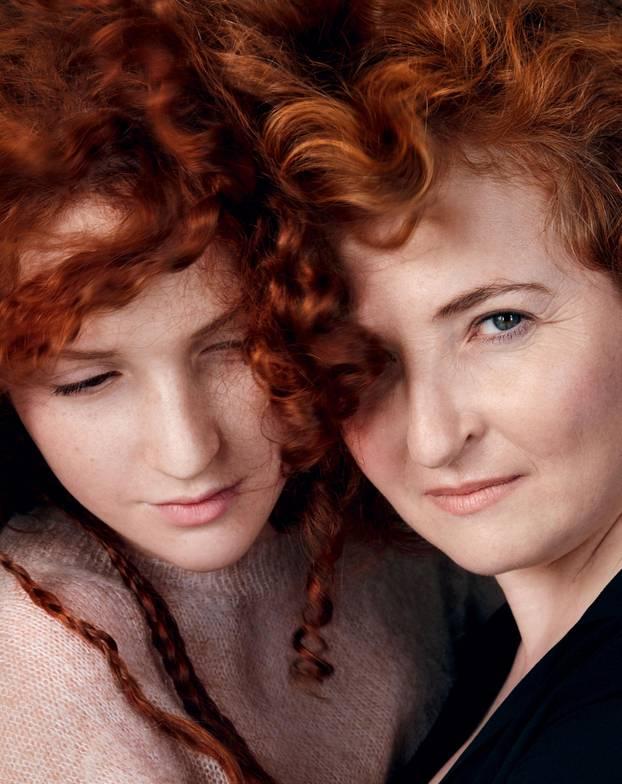 Eltern-Kind-Ähnlichkeiten-rote-Haare