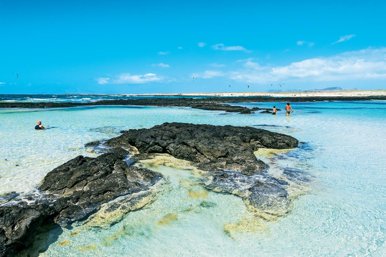 Fuerteventura: Strand und Meeresbecken