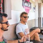 Fuerteventura: Surfer im Canela Cafe