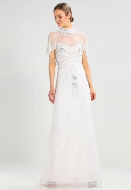 Günstige Hochzeitskleider mit Spitze