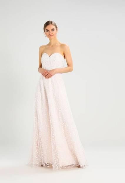 Günstiges Brautkleid in Rosa