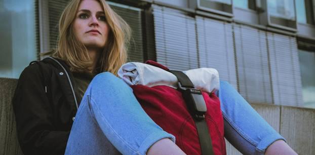 Nachhaltige Mode: Dieser Rucksack ist aus alten Airbags