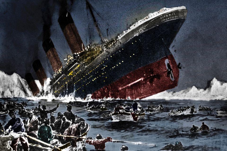 Titanic-Enthüllung: Der Eisberg war nicht Schuld am Untergang