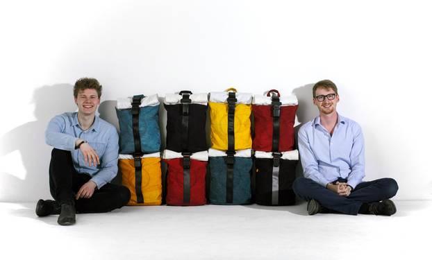 Nachhaltige Mode: Die Gründer von Airpaq