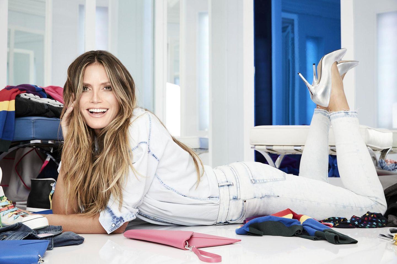 Lidl: Heidi Klum posiert für ihre Kollektion