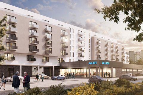 Neues Projekt: Aldi bietet jetzt auch Wohnungen an