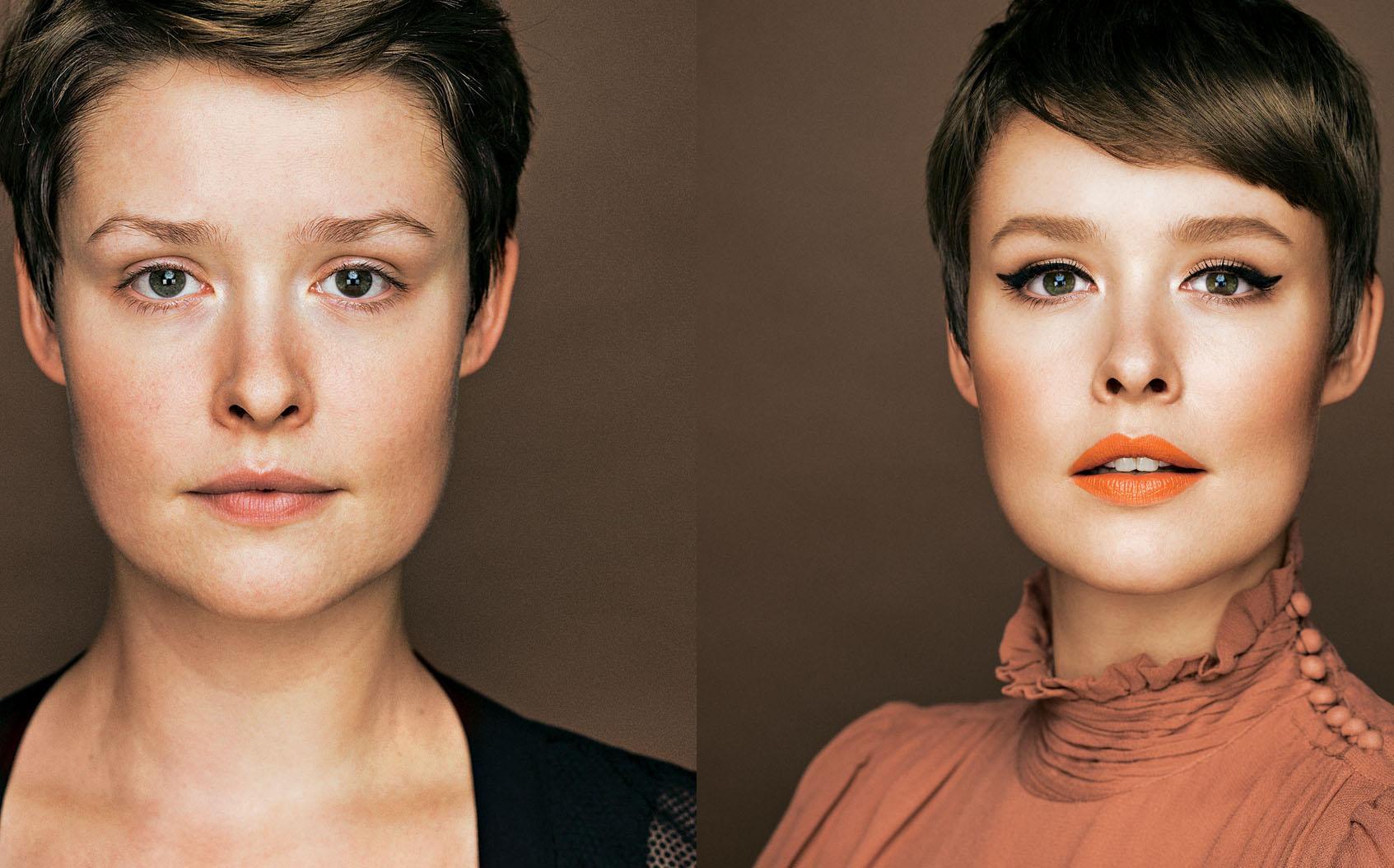 Vorher-Nachher Make-up: 5 Frauen im Umstyling | BRIGITTE.de