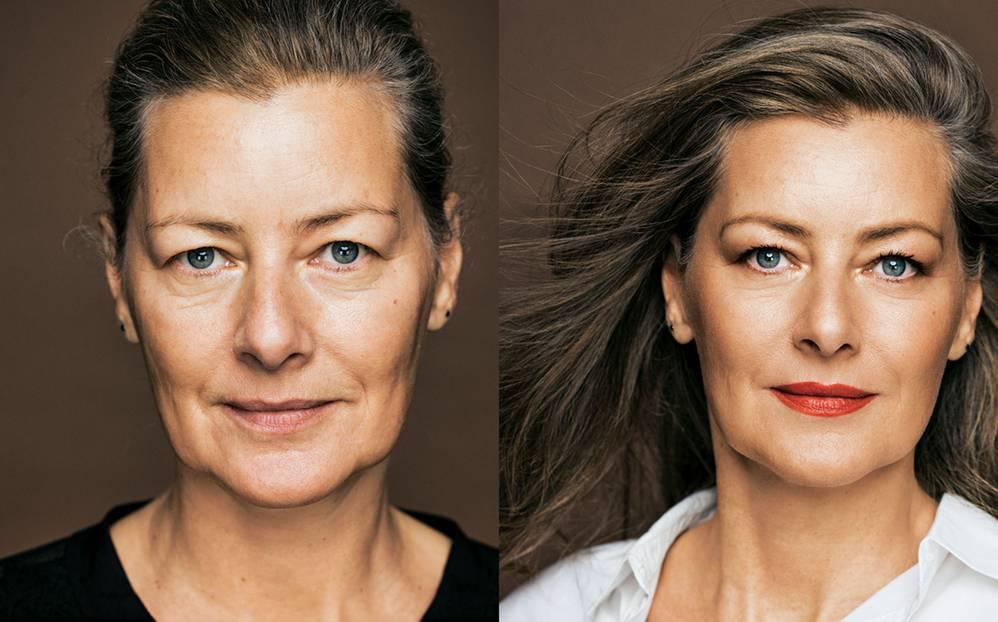 Vorher Nachher Make Up 5 Frauen Im Umstyling Brigittede