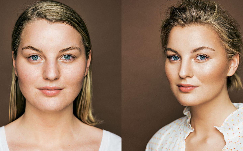 Vorher Nachher Make Up 5 Frauen Im Umstyling Brigitte De