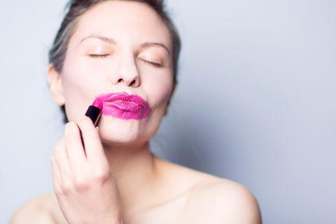 Das Lippenstiftexperiment: Plötzlich jeden Tag geschminkt!