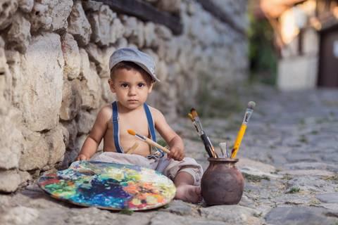 """Wohin mit der """"Kunst""""???: Hilfe, mein Kind malt den ganzen Tag!"""