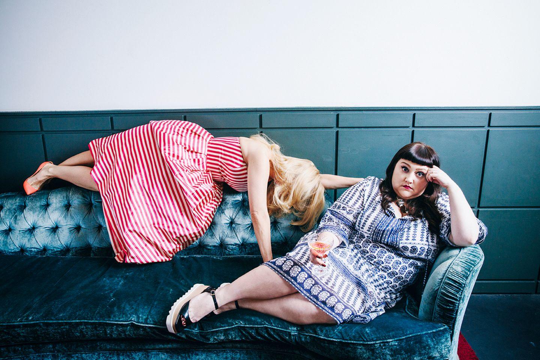 """""""Ich bin nur ruhig, wenn ich schlafe"""" – Energiebündel Beth Ditto und Barbara"""