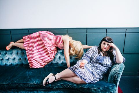 """""""Egal, was andere denken"""" - Barbara und Beth Ditto plaudern über Selbstliebe"""