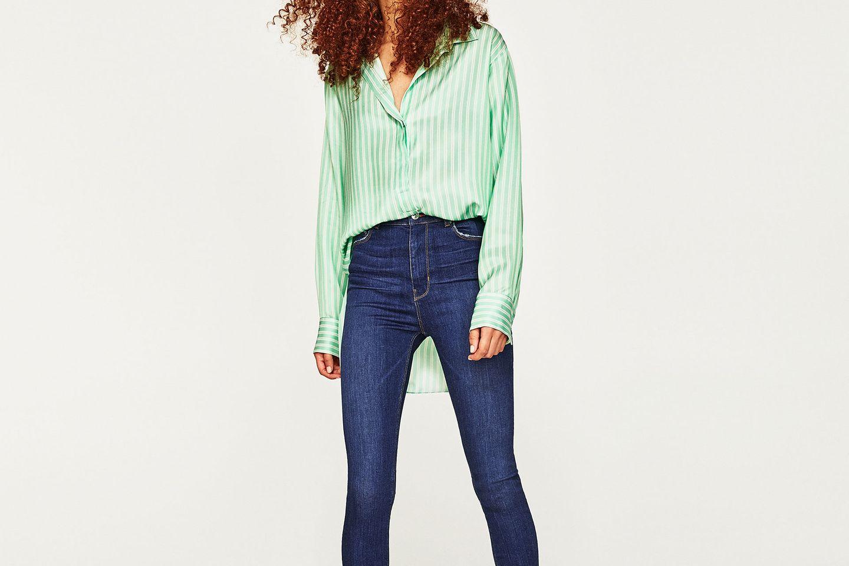 High-Waist-Jeans: Halt mal die Luft an!