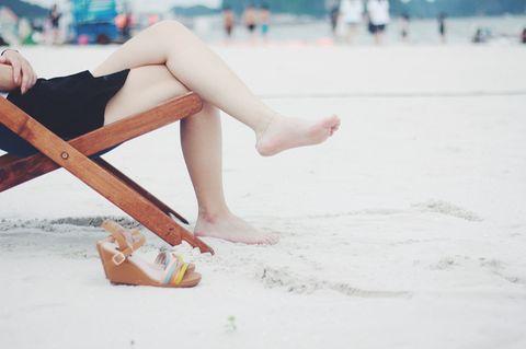 Zeigt her eure Beine –und hört auf an euch rumzumeckern!