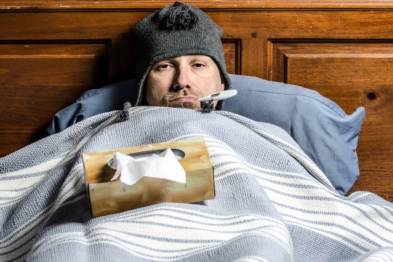 Das T in Männergrippe steht für Tapferkeit