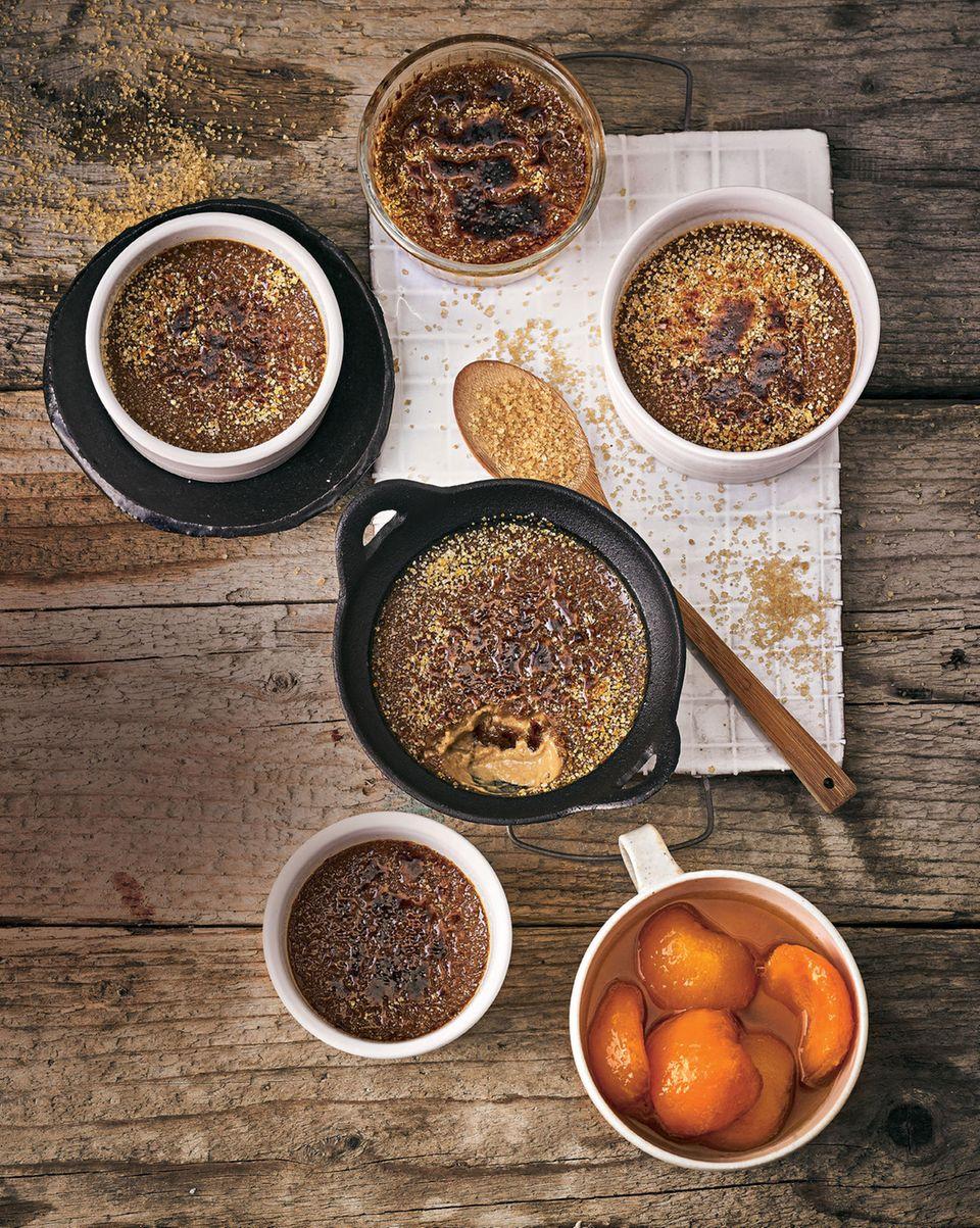 Ostermenü Dessert: Kaffee-Crème-brulée