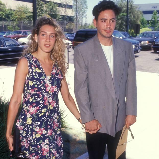 Stolze sieben Jahre war Sarah Jessica Parker die Frau an der Seite von Robert Downey Jr. 1991 sahen sich beide aber nach neuen Partnern um.