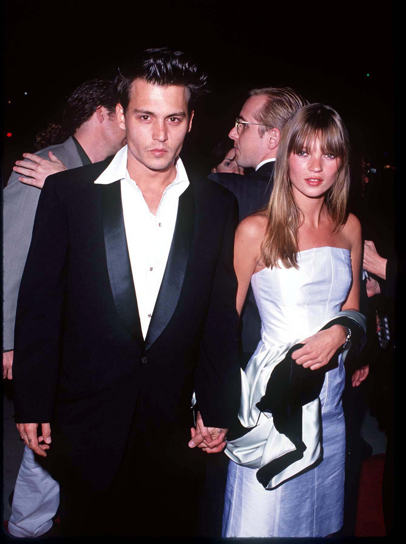 Kate Moss und Johnny Depp galte von 1994 bis 1998 als DAS Traumpaar schlechthin.