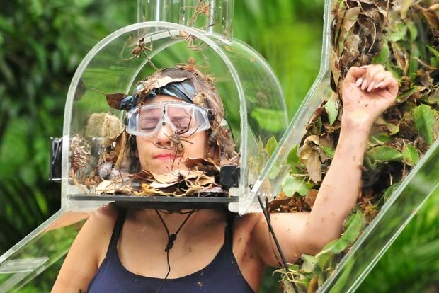 Jenny geht mit Spinnen, Kakerlaken und Ameisen auf Tuchfühlung.