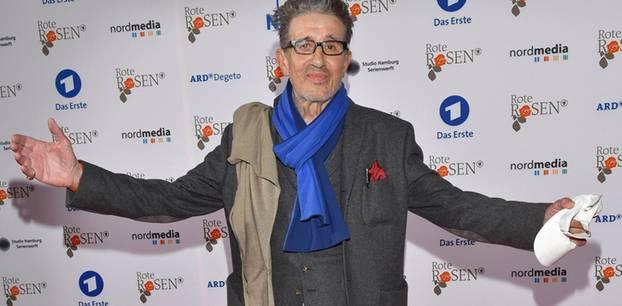 Rolf Zacher auf dem Roten Teppich