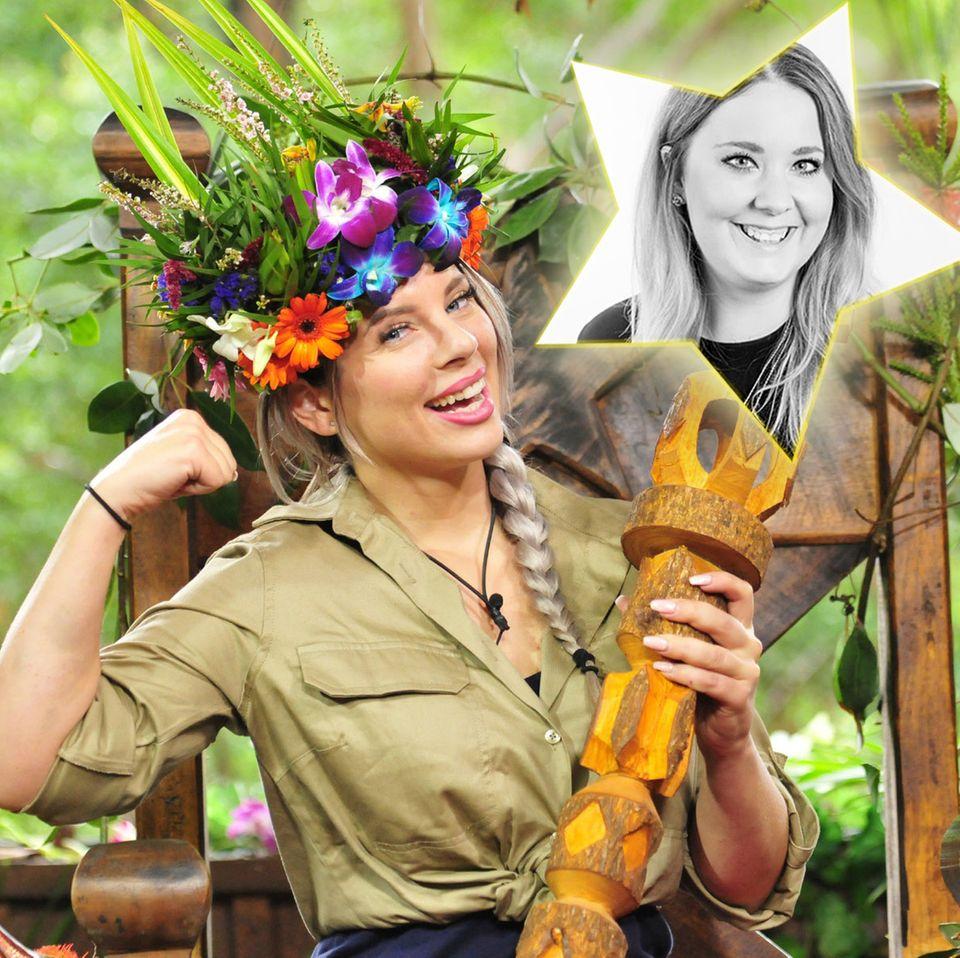 Jenny schnappt sich die Dschungelkrone! Und DAS hat ein Penis damit zu tun ...