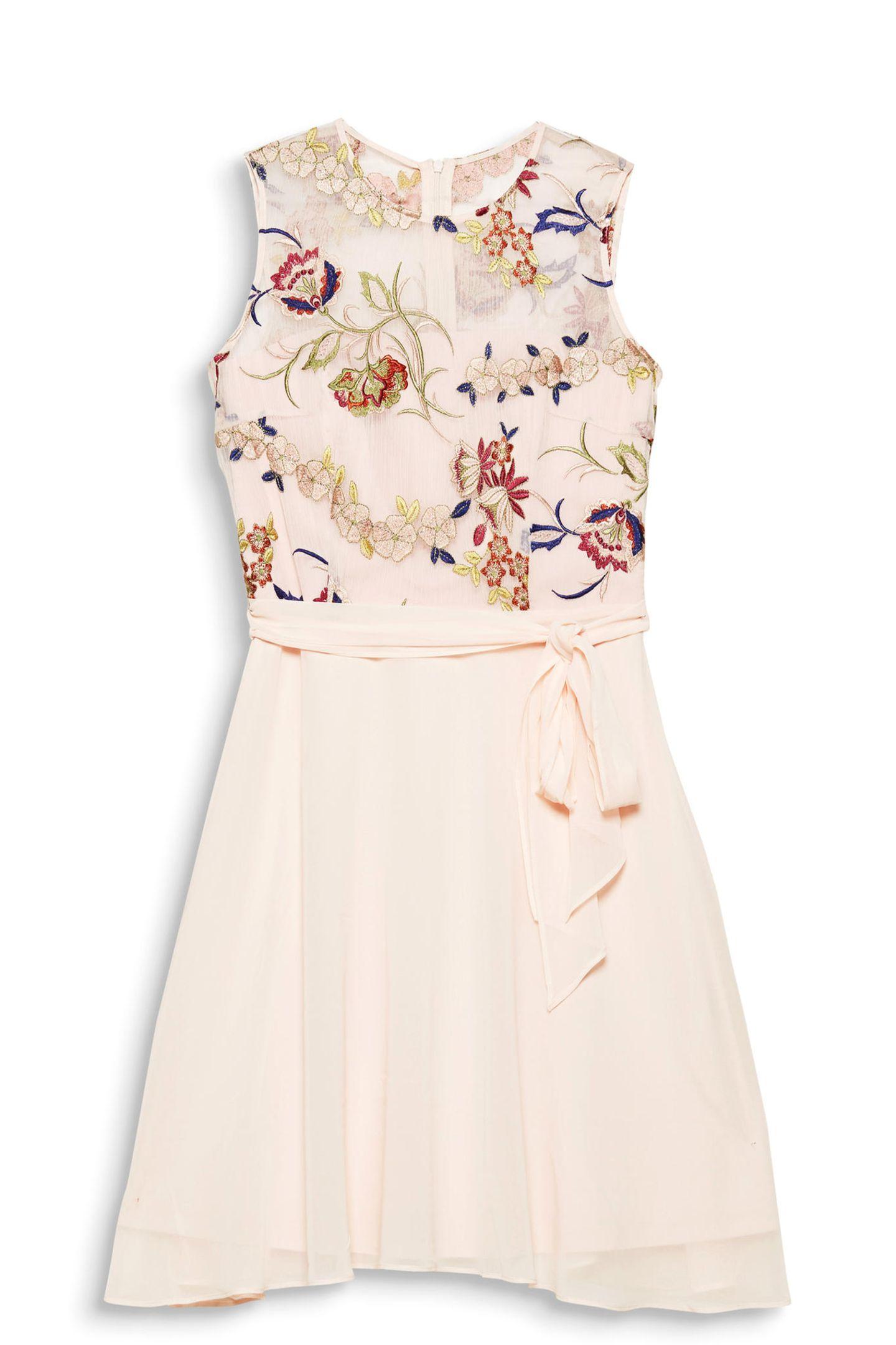 Kleid mit Stickereien von Esprit
