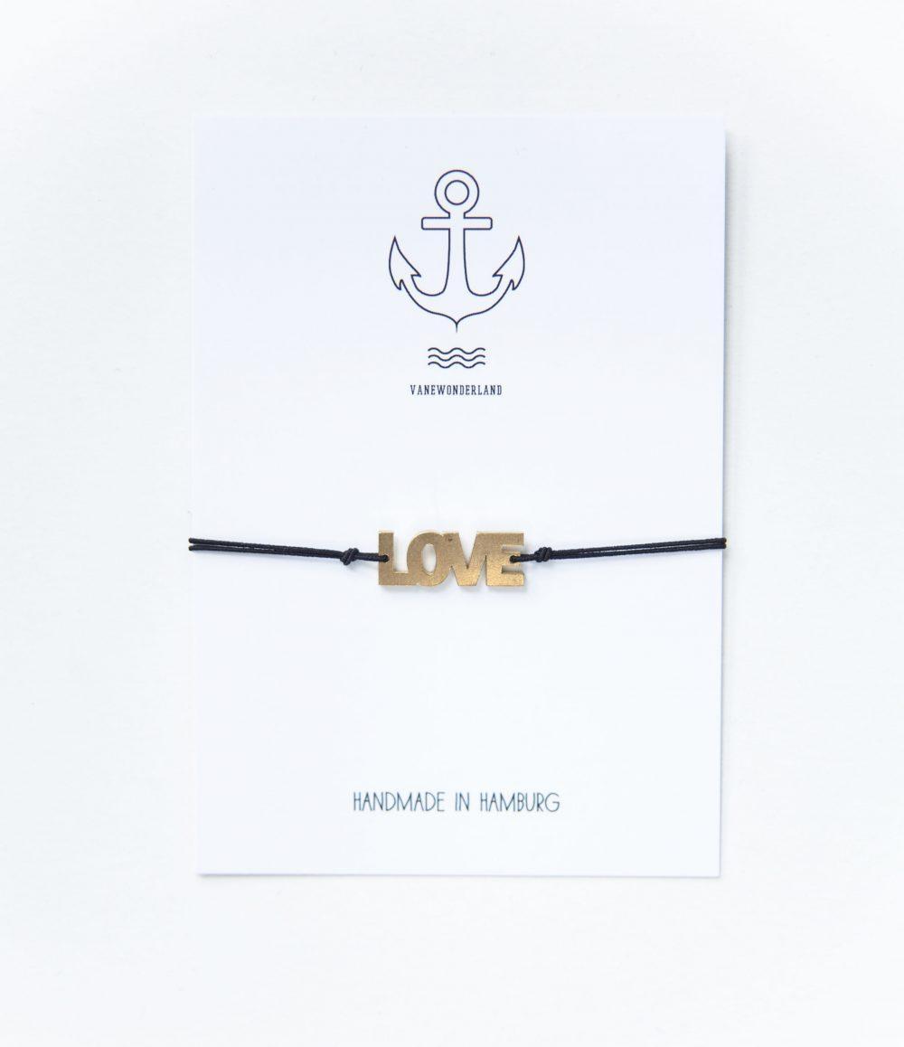Valentinstagsgeschenke für Frauen: Armband Love
