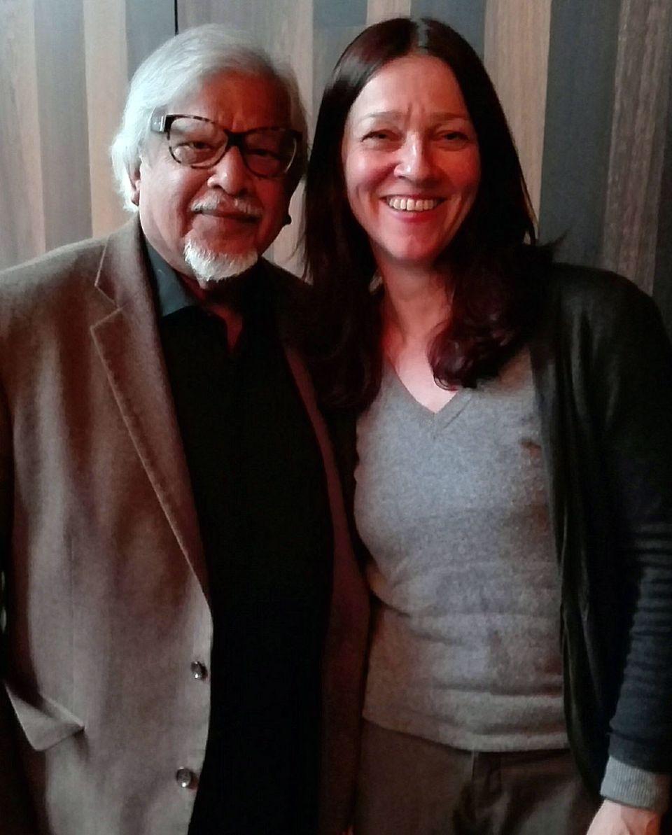 Nach ihrem Gespräch mit Arun Gandhi dachte Autorin Susanne Arndt, dass sie auch gern einen Gandhi zum Großvater gehabt hätte.