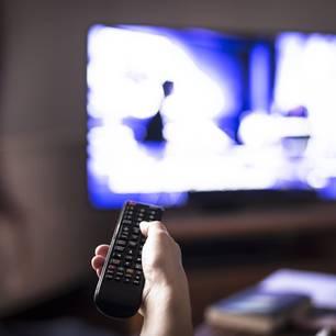 Paar wollte zu Serienmördern werden: ein TV-Bildschirm