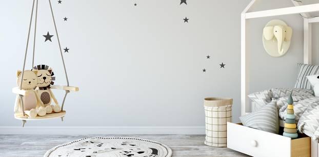 Hausbett im Kinderzimmer modern